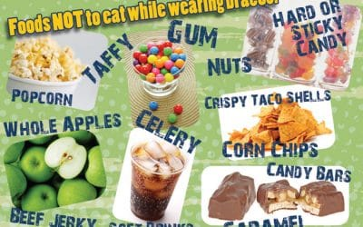food to avoid during braces